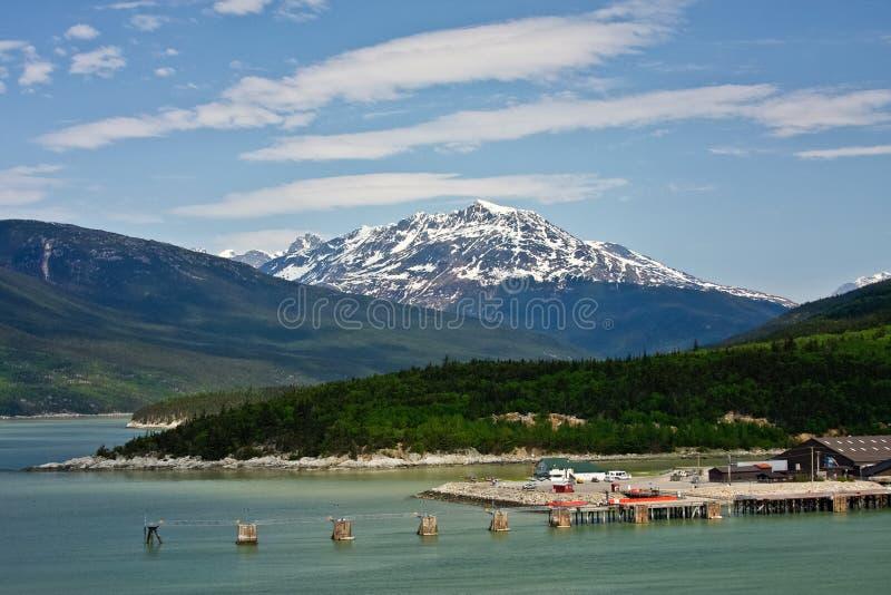 Skagway, Alaska royalty-vrije stock fotografie