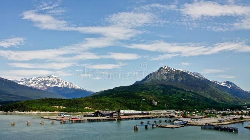 Skagway, Alaska stock fotografie