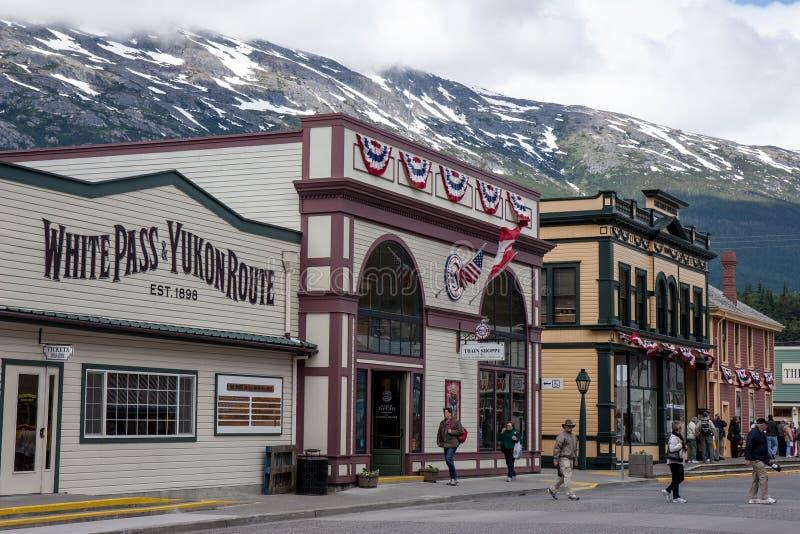 Skagway, Alaska Editorial Image