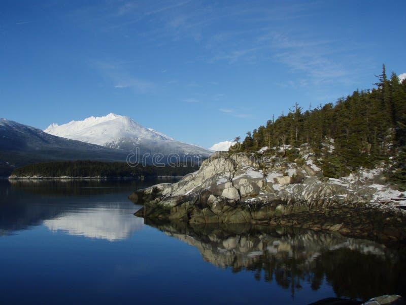 Skagway Alaska fotografering för bildbyråer