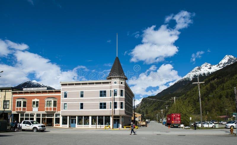Skagway, Alaska foto de archivo