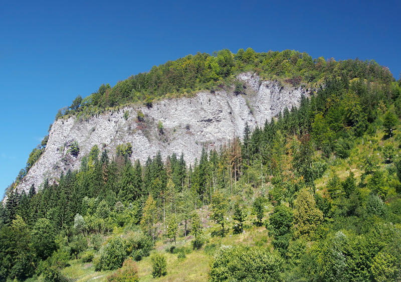 Skala de Bielska, reserva de naturaleza nacional imagen de archivo libre de regalías