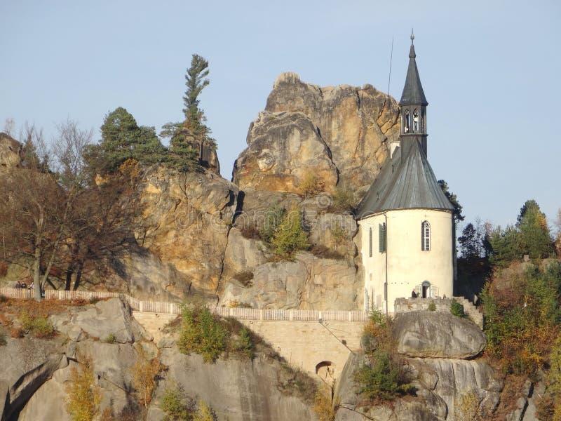 Skala de Mala, paraíso boêmio, república checa fotos de stock royalty free