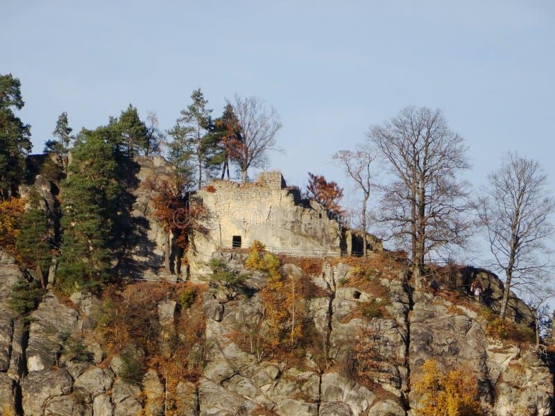 Skala Mala, Βοημίας παράδεισος, Τσεχία στοκ εικόνα με δικαίωμα ελεύθερης χρήσης