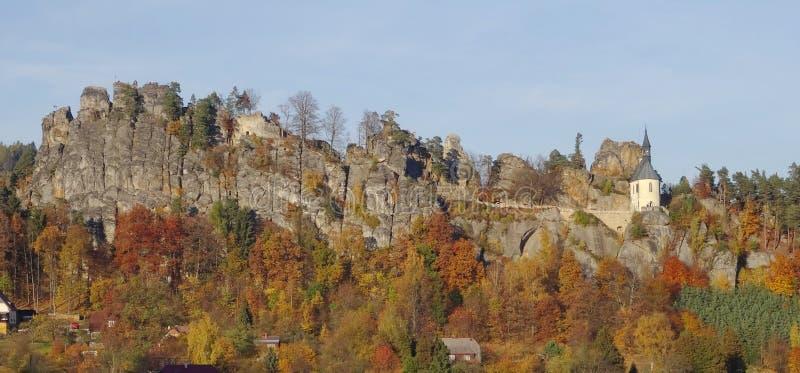 Skala Mala, Βοημίας παράδεισος, Τσεχία στοκ εικόνα