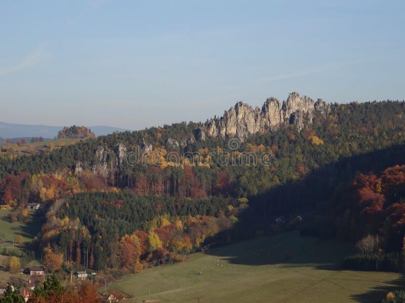 Skala Mala, Βοημίας παράδεισος, Τσεχία στοκ εικόνες με δικαίωμα ελεύθερης χρήσης