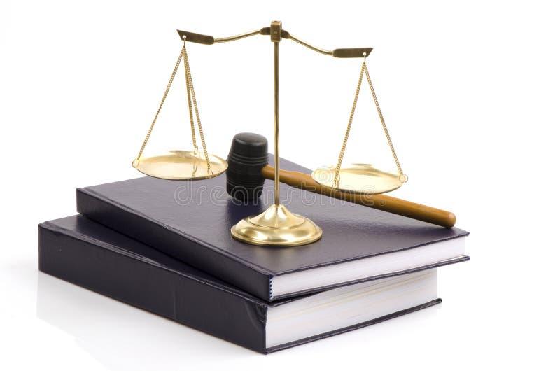 Skala och lagen royaltyfri fotografi