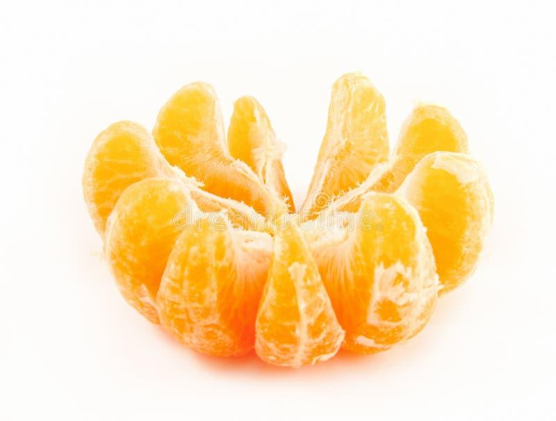 skalad tangerine fotografering för bildbyråer