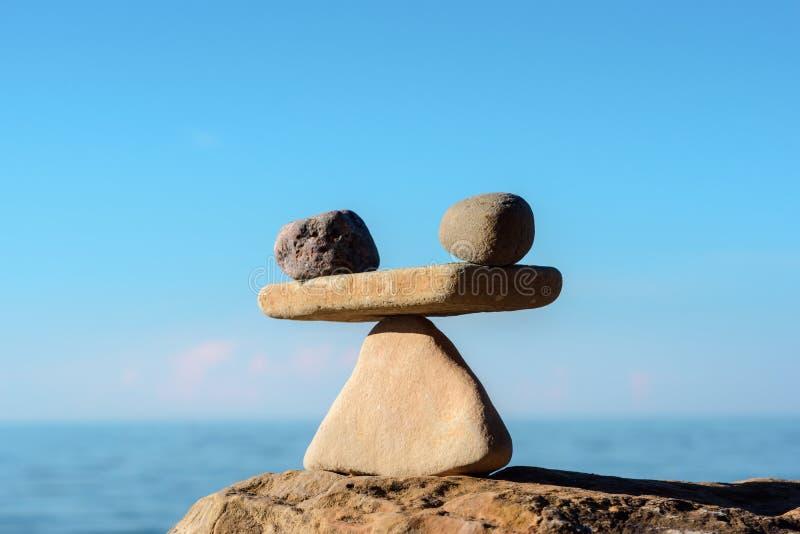 Skalen von Steinen lizenzfreies stockbild