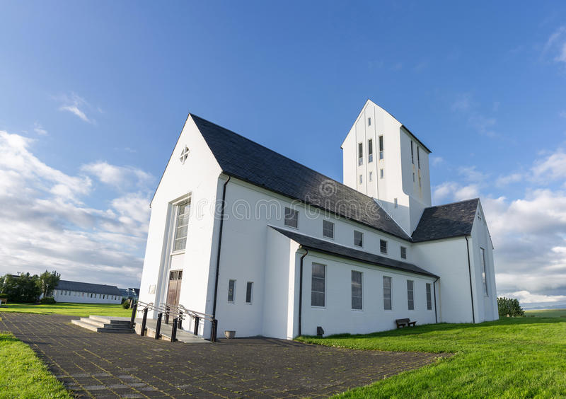 Skalholt castle in Iceland royalty free stock images