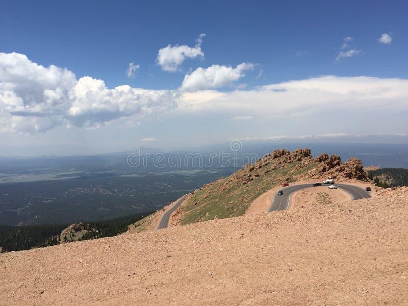 Skalista góra wysoka zdjęcia royalty free