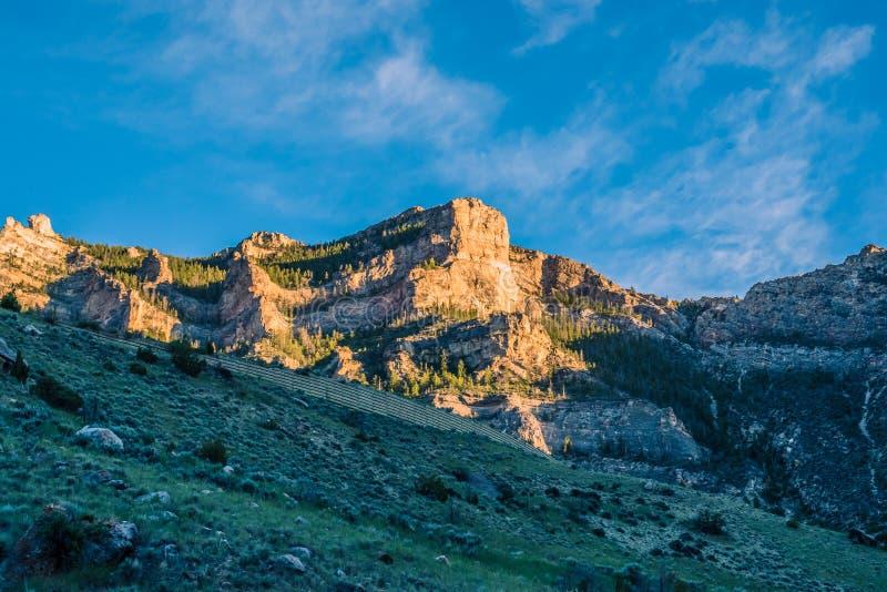 Skaliste bramy | Bighorn obraz royalty free