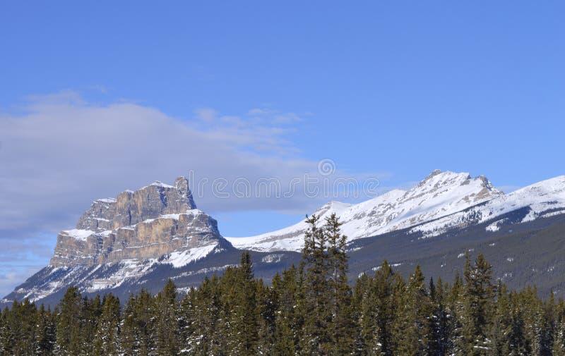 Skalistej góry sposób od autostrady, obrazy royalty free