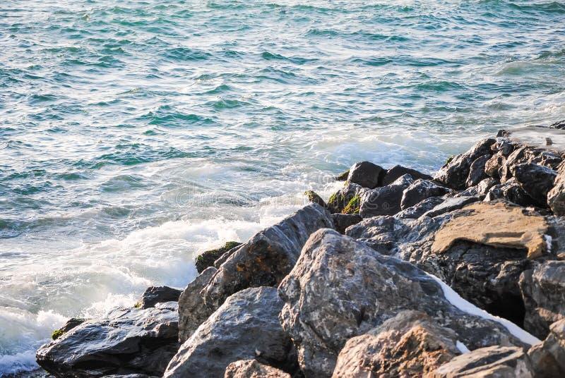 Skalisty brzeg Bosphorus obraz stock