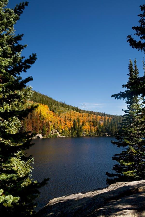 skalisty halny bearlake park narodowy fotografia stock