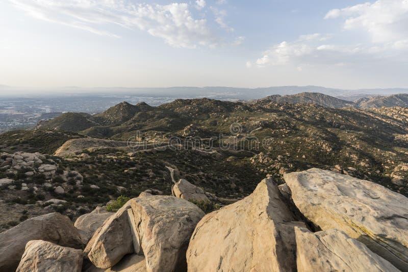 Skalisty szczytu park w Los Angeles Kalifornia fotografia stock