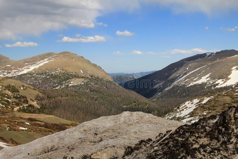 Skalistych gór park zdjęcie stock