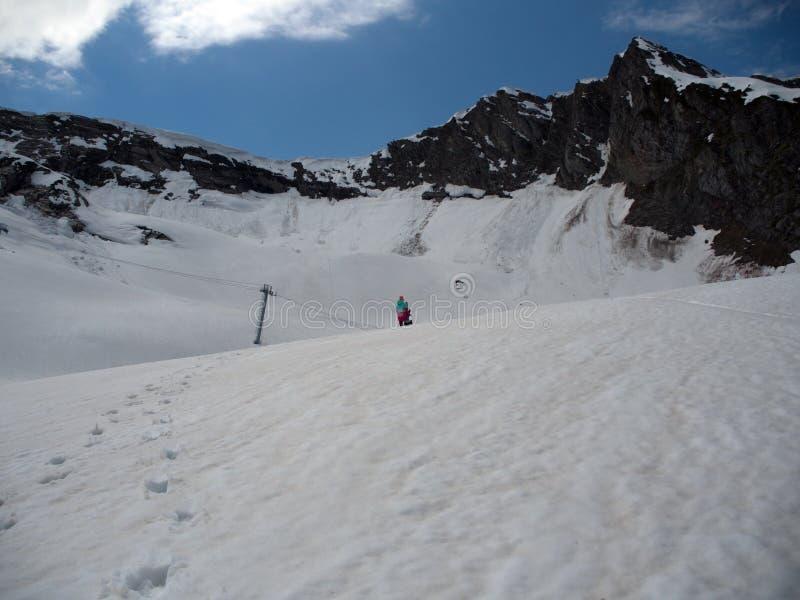 Skalistych g?r o?rodek narciarski Gorky Rosja Sochi 05 11 2019 obraz royalty free