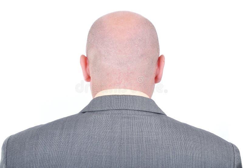 skalligt affärsmanbarn royaltyfri fotografi