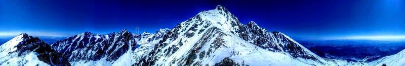 Skalnatesedlo in Hoge Tatras Slowakije royalty-vrije stock foto's