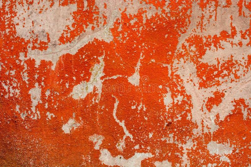Skalning av målarfärg på sömlös textur för vägg Modell av lantligt blått grungematerial royaltyfri bild