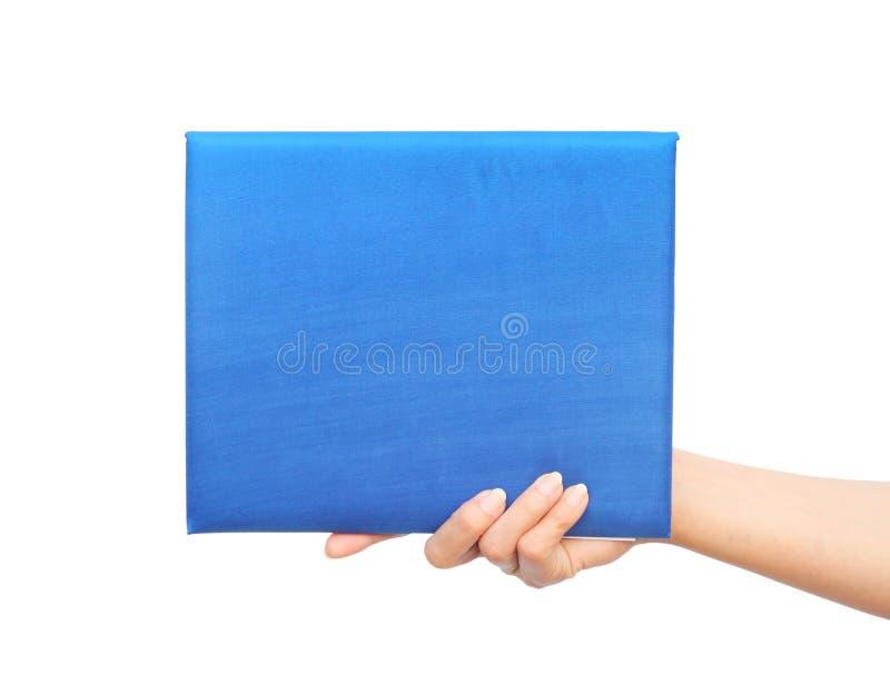 Skalowanie dyplom w ręce zdjęcie royalty free
