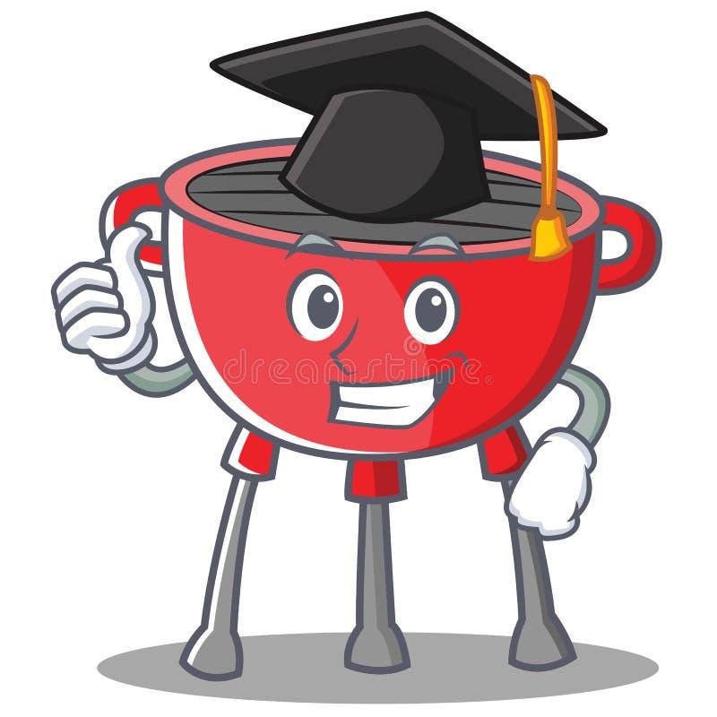 Skalowanie grilla grilla postać z kreskówki ilustracji