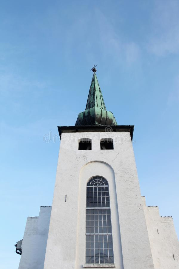 Skanderup church in Skanderborg. Denmark stock photos