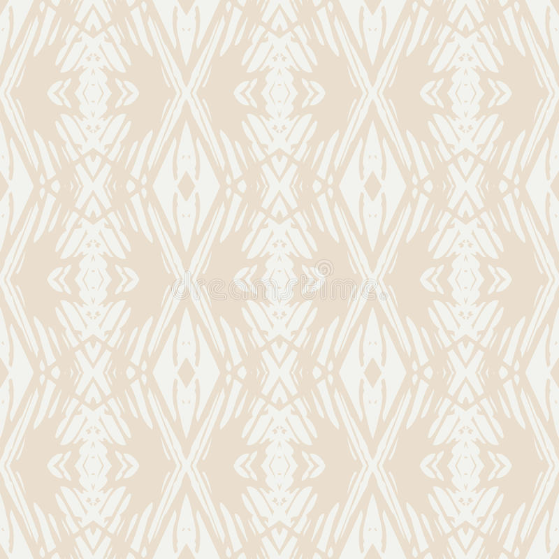 Skandinavisch ontwerp vector geometrisch patroon stock illustratie