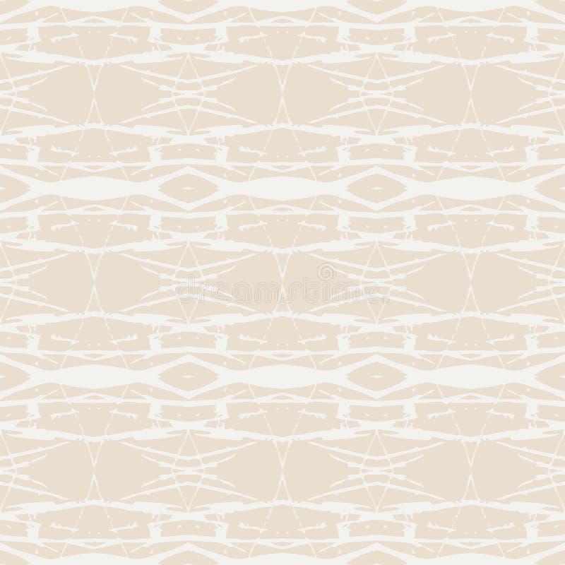 Skandinavisch ontwerp vector geometrisch patroon royalty-vrije illustratie