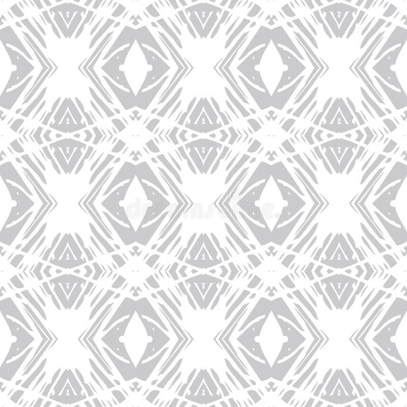 Skandinavisch schoon en eenvoudig vectorpatroon stock illustratie