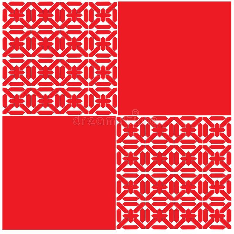 Skandinavisches Muster seampless stock abbildung