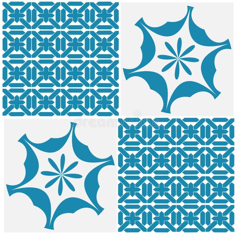 Skandinavisches Muster seampless lizenzfreie abbildung