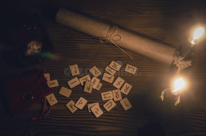Skandynawscy runes zdjęcie royalty free
