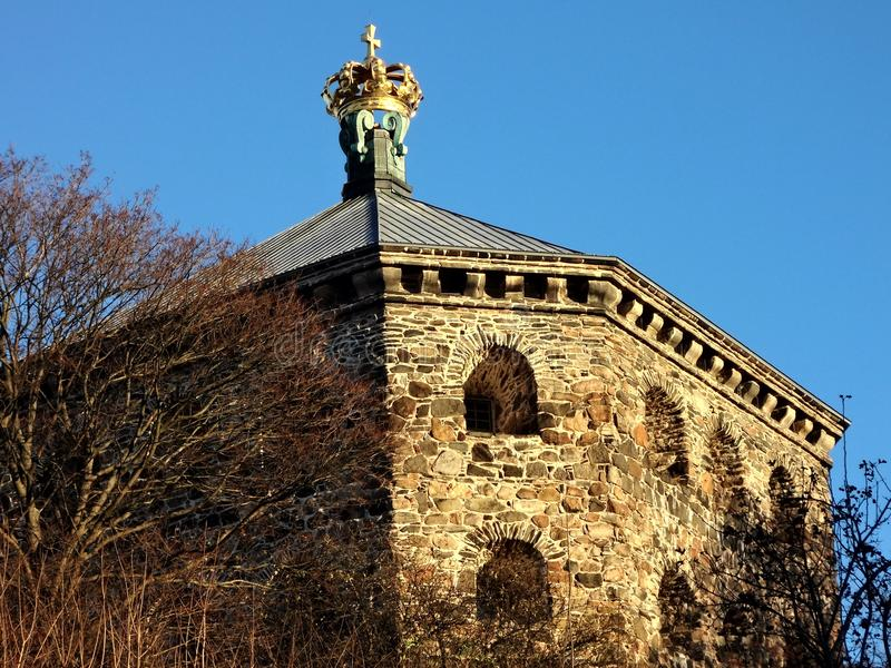 Skansen Kronan, Γκέτεμπουργκ, Σουηδία στοκ φωτογραφίες