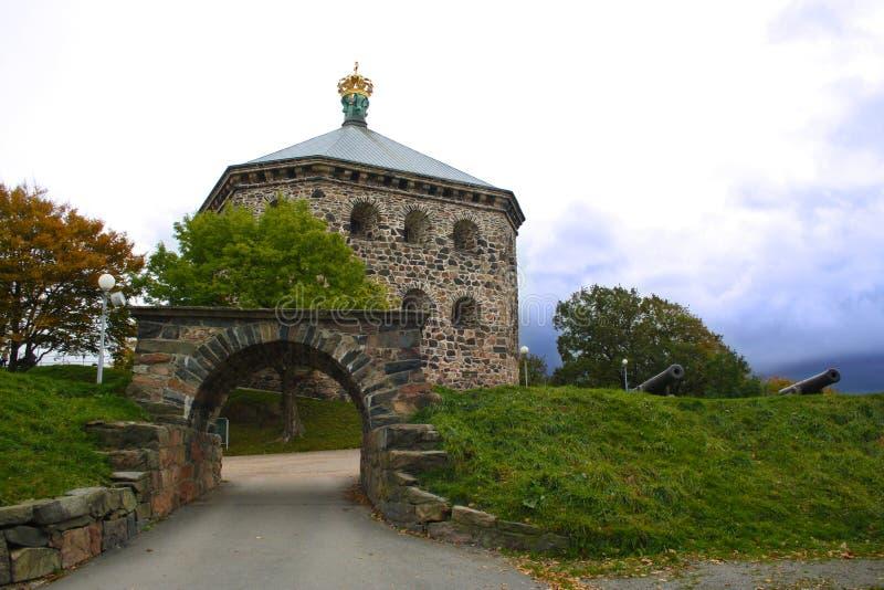Skansen Kronan imagem de stock royalty free