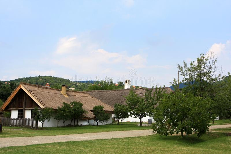 Skanzen, Hungary. Skanzen, Hungarian Open Air Museum in Szentendre stock photo