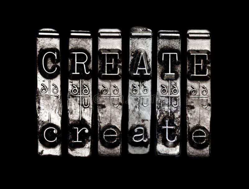 Skapa eller uppfinn arkivbild