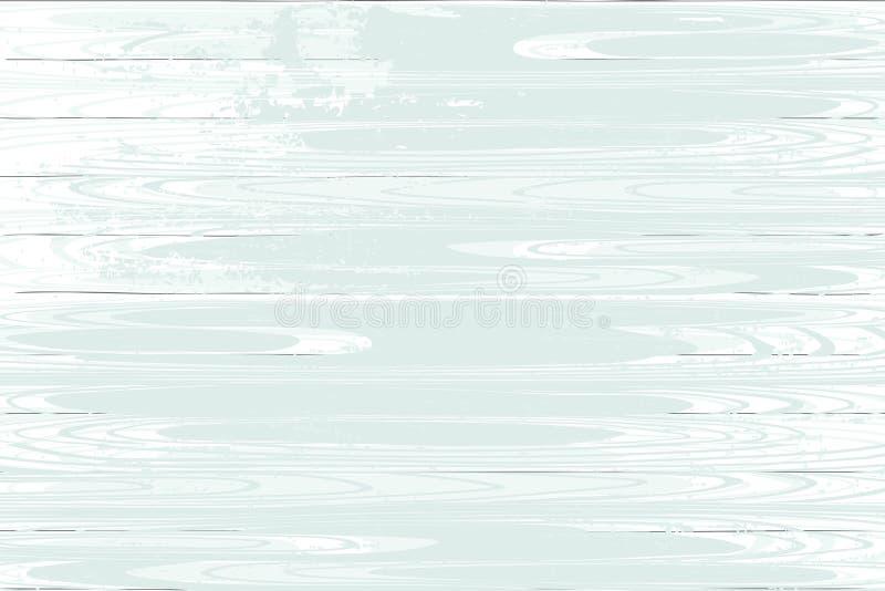 Skapad vit wood textur för vektordiagram tecknad hand vektor illustrationer