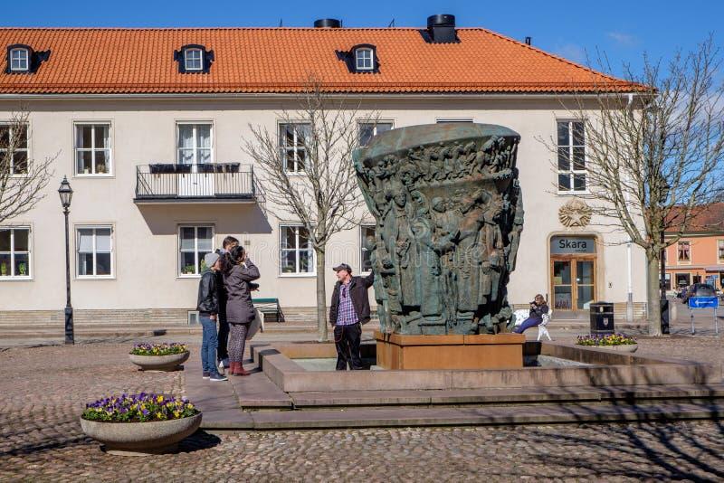 Skara,瑞典 免版税库存照片
