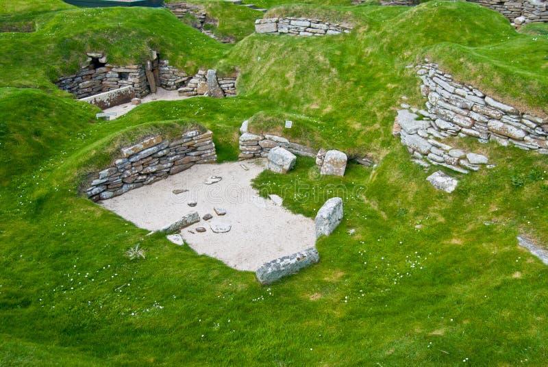 Download Skara Brae stock image. Image of skara, orkney, stone - 25309629