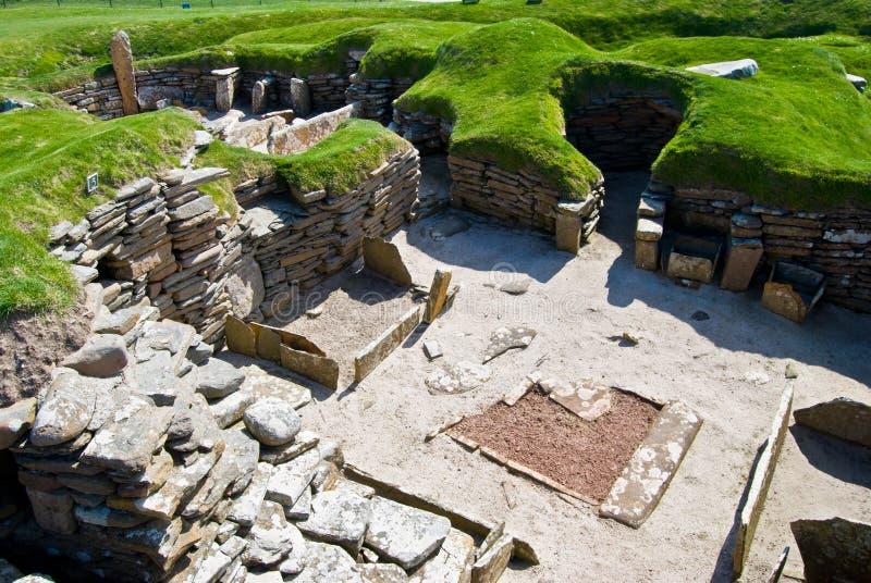 Skara Brae στοκ εικόνες με δικαίωμα ελεύθερης χρήσης
