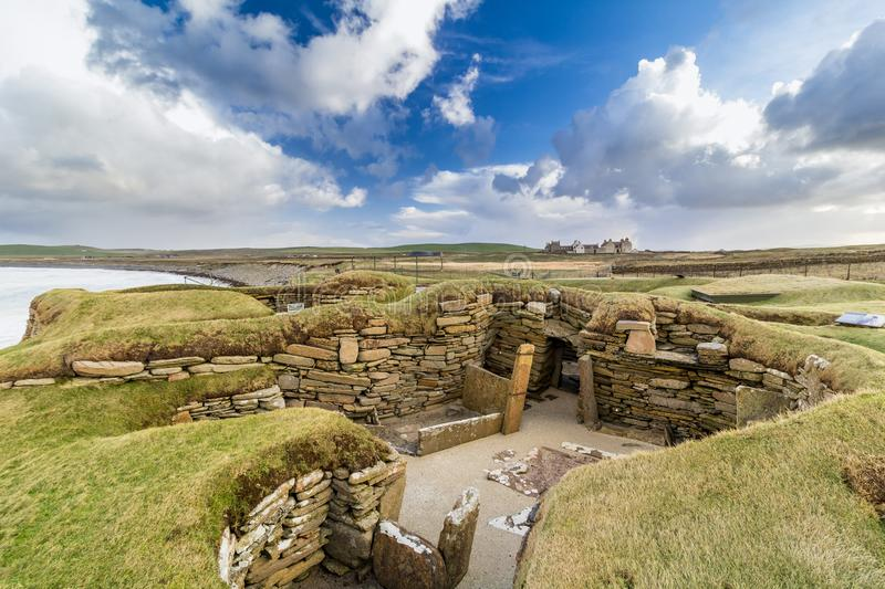 Skara Brae royalty free stock image