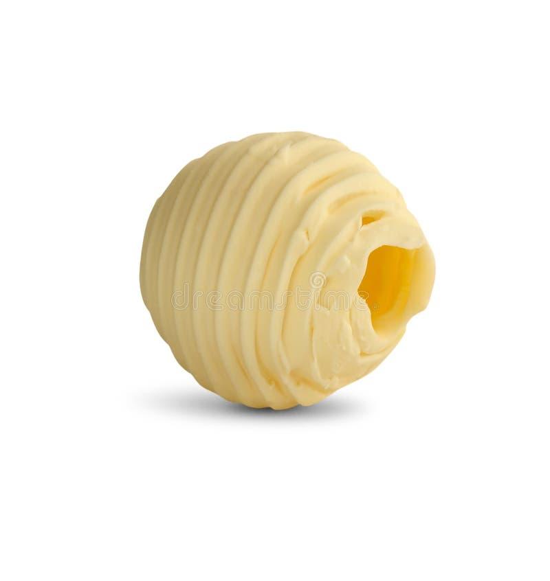 skarbikowany masło biel zdjęcie stock