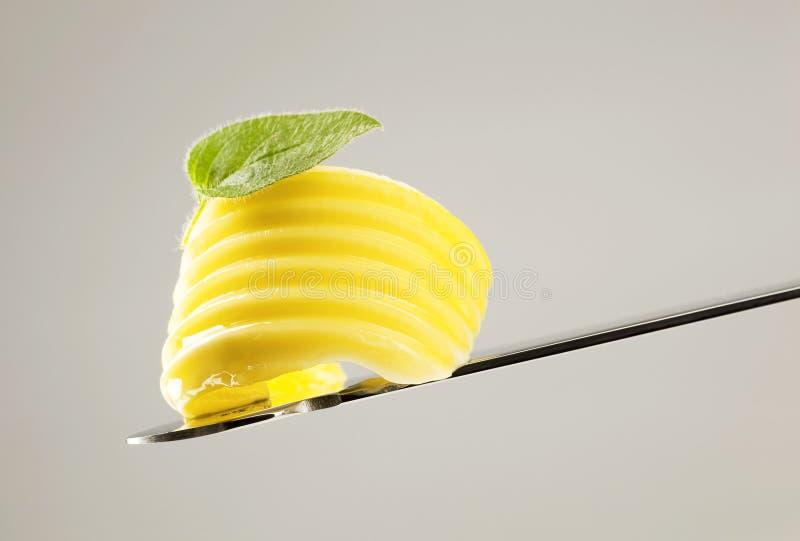 skarbikowany masło nóż zdjęcie royalty free