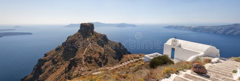 Download Skaros panorama stock image. Image of island, landscape - 20318055