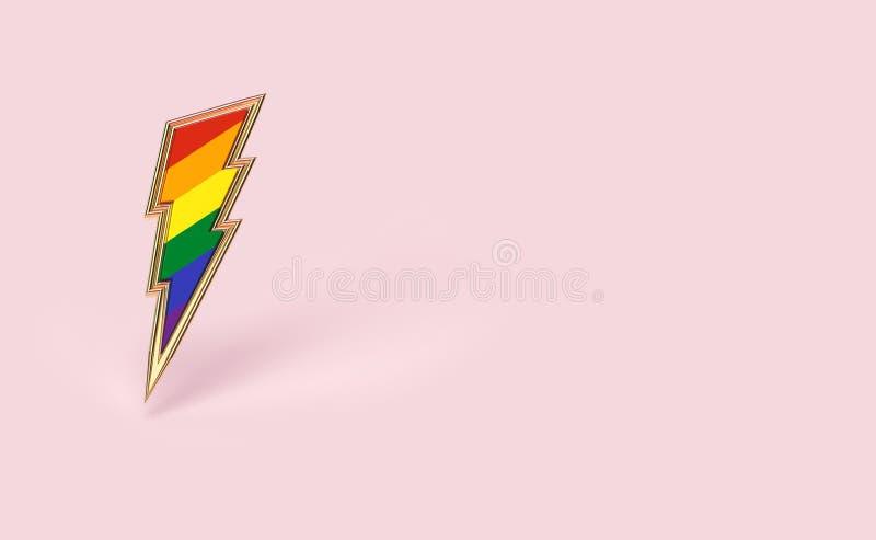 Skarpt symbol f stock illustrationer