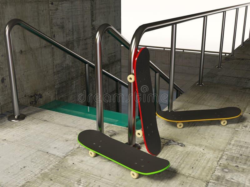 Skate foto de stock royalty free