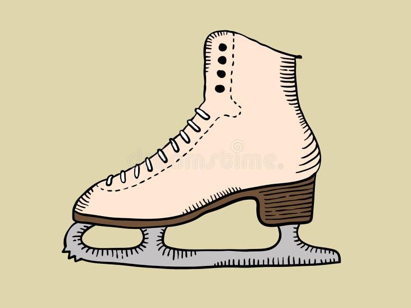 Download Skate stock vector. Illustration of skating, shoe, blade - 13170452