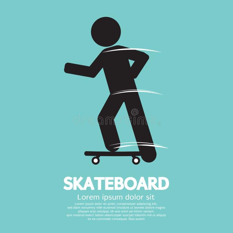 Skate ilustração do vetor